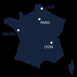 Implantation OTTEO en France